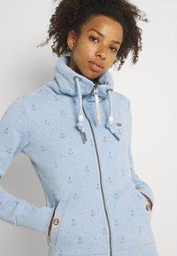 Ragwear - RYLIE MARINA ZIP - Mikina na zip - light blue - 3