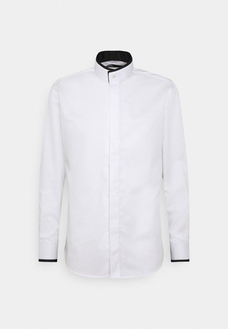 KARL LAGERFELD - SHIRT MODERN FIT - Formal shirt - black