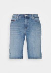 Tommy Jeans - MID RISE - Denim shorts - tess light blue - 6