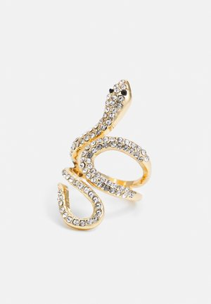 WIN PAVE SNAKE WRAP - Ring - gold-coloured