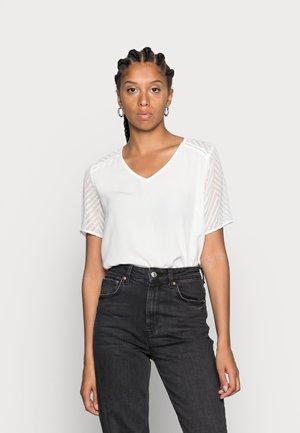OBJZOE - T-shirt imprimé - gardenia