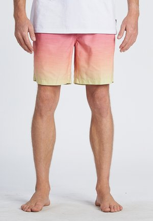 ALL DAY FADED - Swimming shorts - neon orange