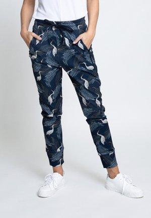 FABIA - Trousers - blue