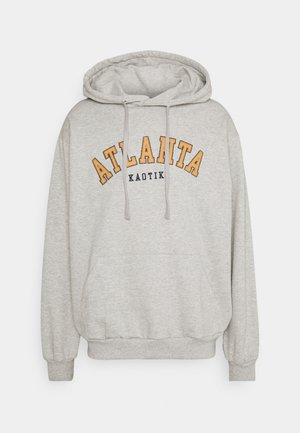 CREW ATLANTA UNISEX - Zip-up hoodie - grey mel