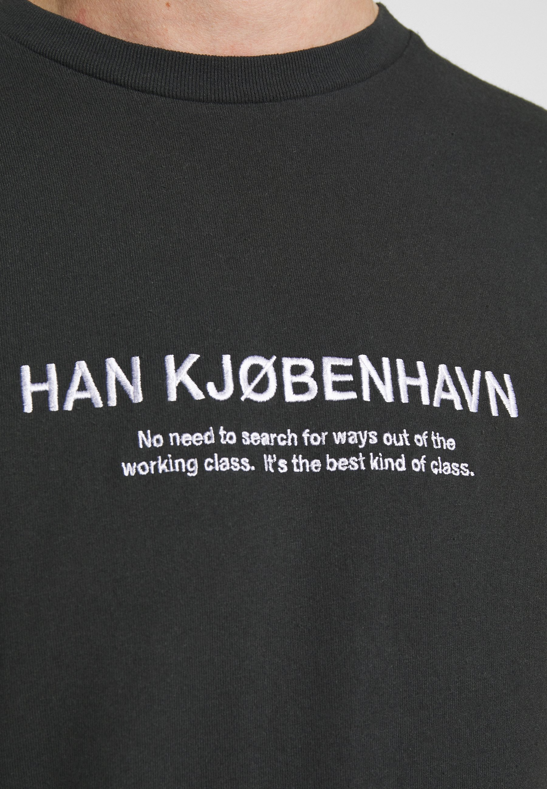 Han Kjobenhavn ARTWORK TEE - T-shirt imprimé - faded black