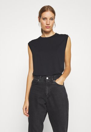 DECULA - T-shirts - black