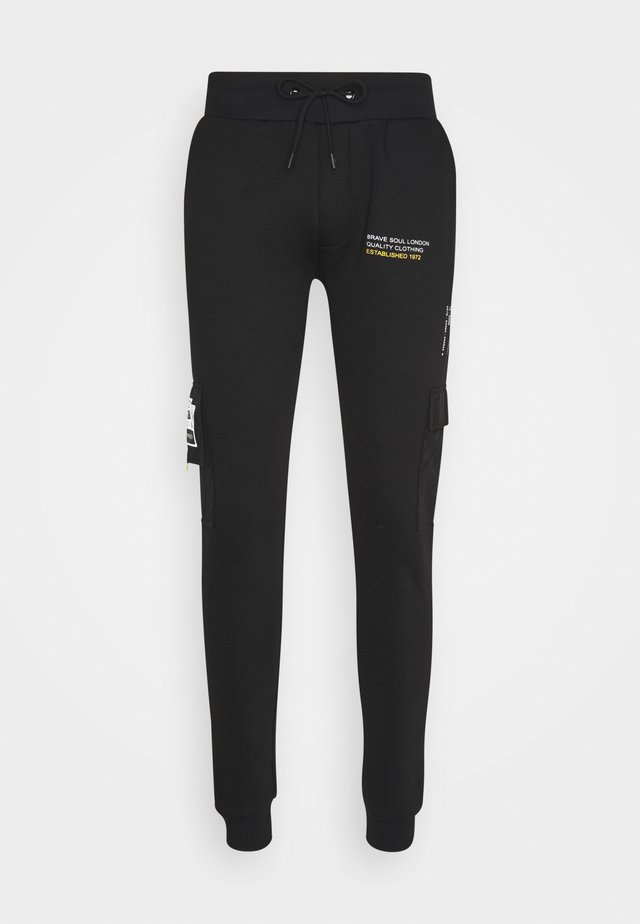 TECH - Trainingsbroek - jet black