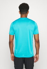 Craft - CORE ESSENCE TEE  - Print T-shirt - blue - 2