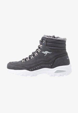 KW-LOOMY - Šněrovací kotníkové boty - steel grey/vapor grey