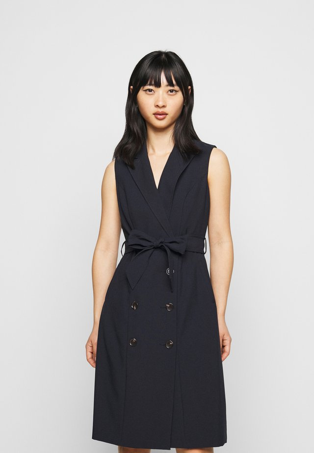 PETITES TRENCH DRESS - Blousejurk - navy