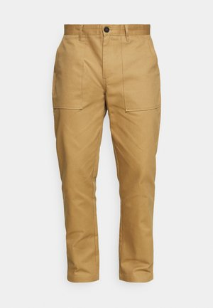 JAN HEAVY PANT - Trousers - incense