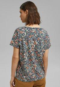Esprit - T-shirt imprimé - navy blue - 2