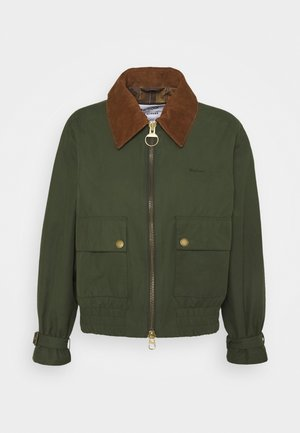 ALEXA CHUNG X BARBOUR ELLIOT CASUAL - Light jacket - wilderness green/ancient