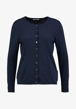BASIC - Strickjacke - navy
