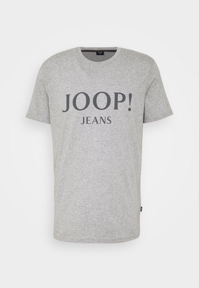 ALEX - T-shirt imprimé - silver
