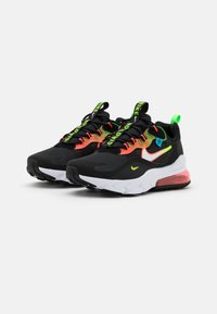 Nike Sportswear - AIR MAX 270 REACT - Sneakers - black/white/green strike/flash crimson/blue fury - 1