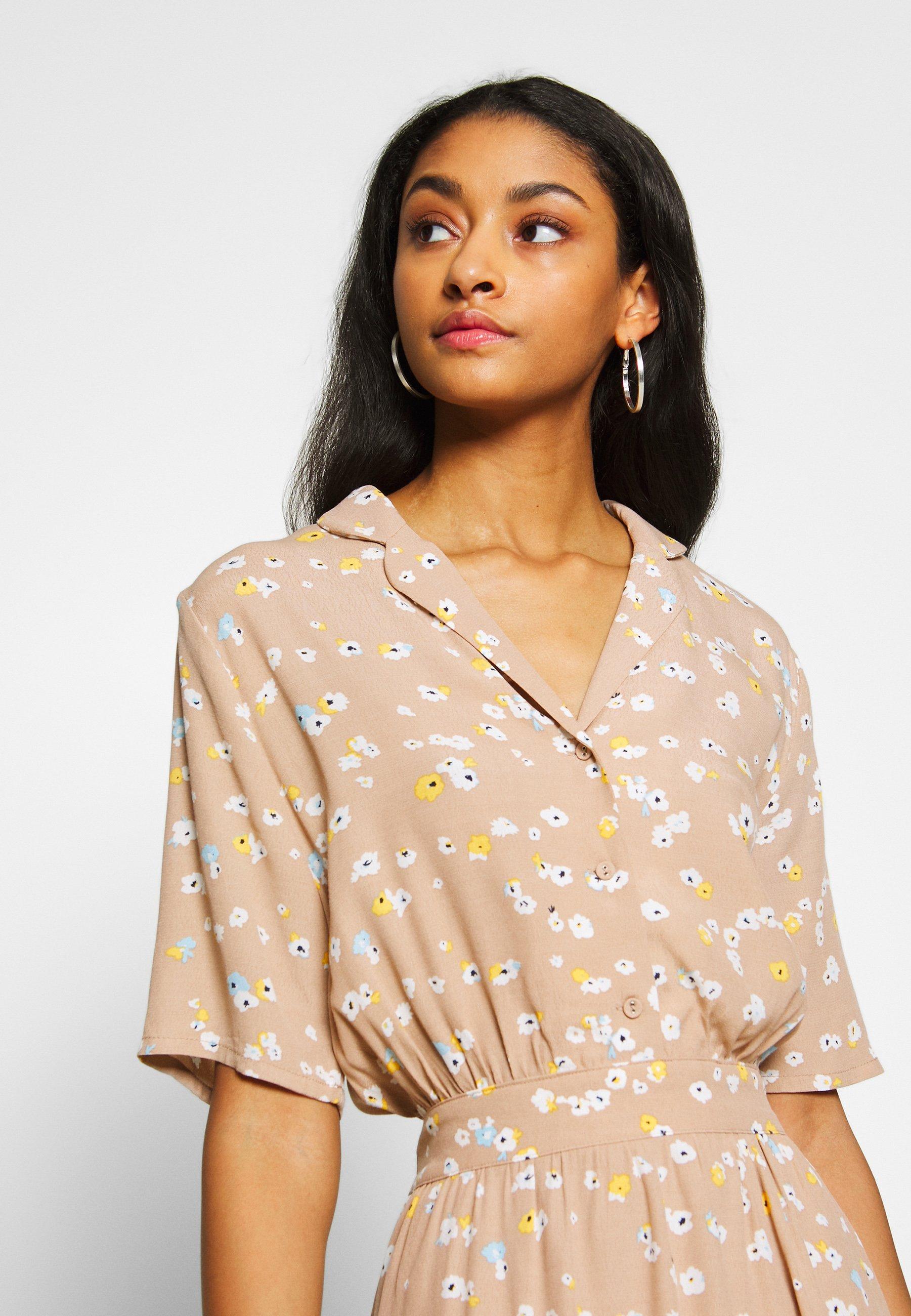 ICHI IHANGEL - Blusenkleid - natural | Damenbekleidung 2020