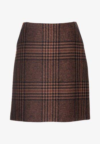FORME - A-line skirt - var nocciola/marrone