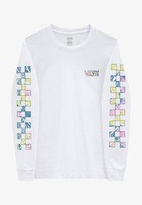 Vans - WM DYE VIBE - Print T-shirt - white - 3