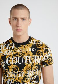Versace Jeans Couture - MAGLIETTE UOMO - T-shirt med print - nero - 4