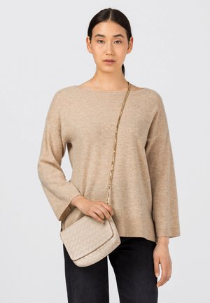 Sweater - milchkaffee melange