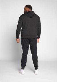 Polo Ralph Lauren Big & Tall - DOUBLE TECH HOOD - Zip-up sweatshirt - black - 2