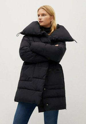 WOOD7 - Winter coat - schwarz