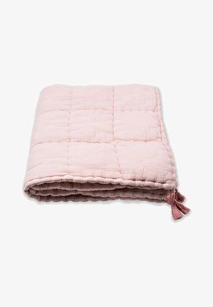 HANDMADE  - Muslin blanket - light pink
