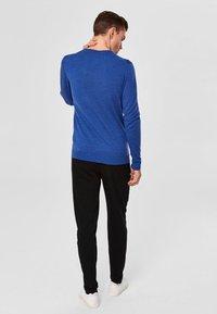 Selected Homme - Jumper - medium blue melange - 2