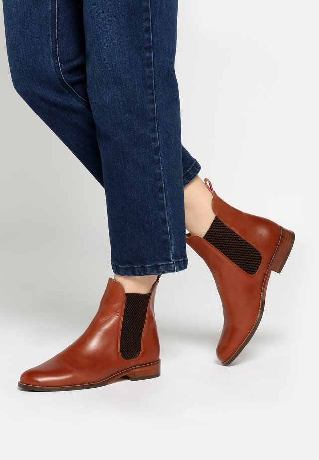 WESTBOURNE - Classic ankle boots - brown