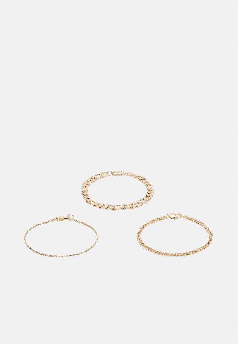 Weekday - UNITY BRACELET 3 PACK - Bracelet - gold-coloured
