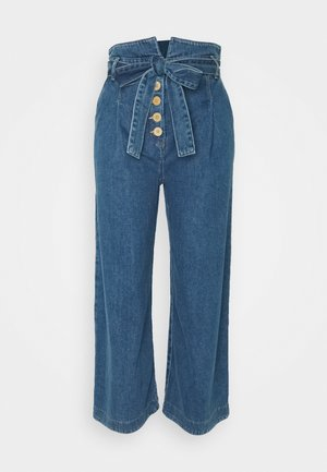 MIDWEIGHT - Flared Jeans - denim blue
