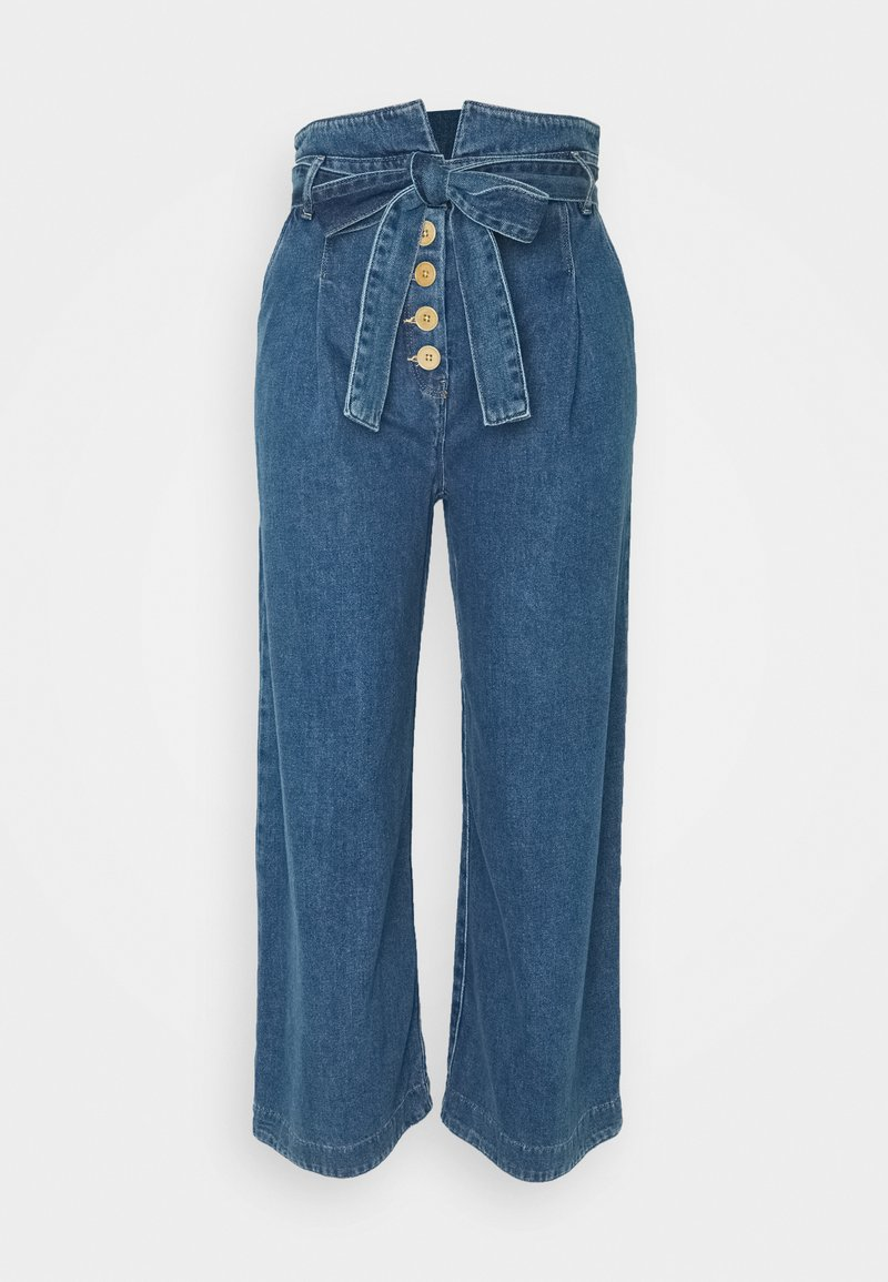 Noa Noa - MIDWEIGHT - Široké džíny - denim blue