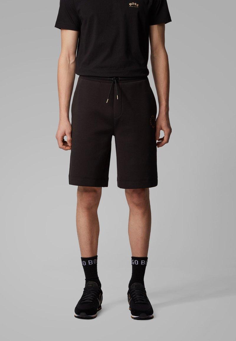BOSS - HALBOA SHORT - Shorts - anthracite