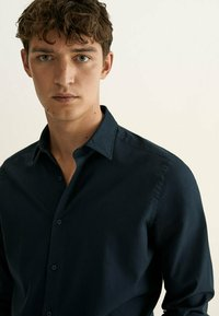 Massimo Dutti - SLIM FIT - Shirt - blue - 2