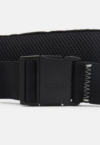 adidas Performance - RUN BELT UNISEX - Bum bag - black/white - 4