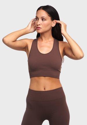 KAIA ONE BLOCK - Sports bra - chestnut