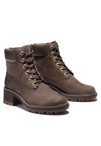 Timberland - KINSLEY 6 INCH WP - Lace-up ankle boots - dark brown nubuck - 3