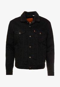 Levi's® - TYPE 3 SHERPA TRUCKER - Light jacket - back denim - 3
