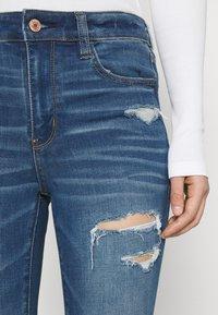 American Eagle - CURVY JEGGING - Jeans slim fit - sky blue - 3