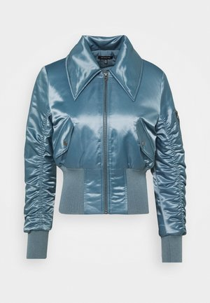JACKET - Bomber Jacket - grey blue