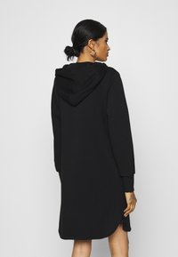 ONLY - ONLELVIRA HOOD DRESS - Day dress - black - 2