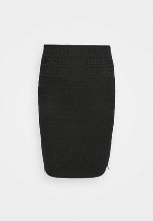 Pencil skirt - nero