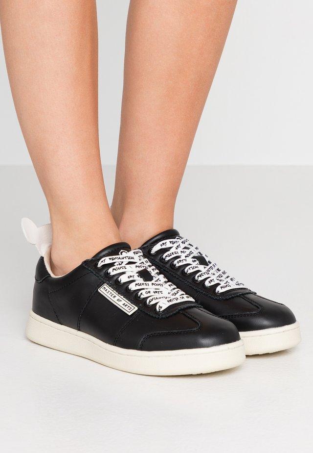 Sneakers basse - gallery black/white