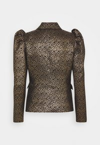 Selected Femme - SLFGEE - Blazer - black/gold - 1