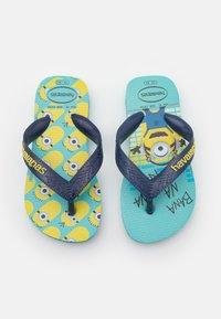 Havaianas - MINIONS UNISEX - T-bar sandals - blue/navy - 0