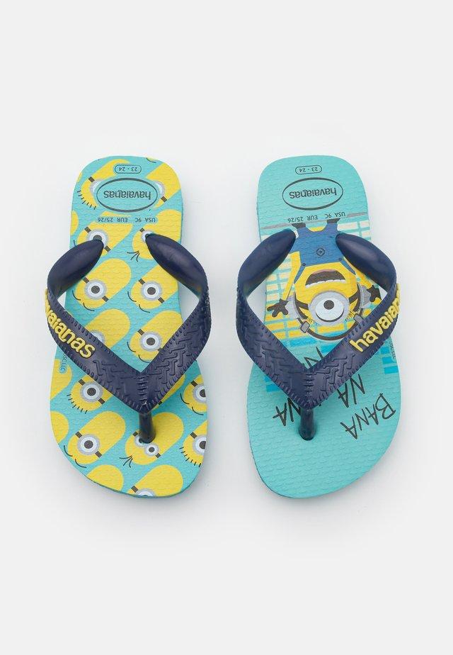 MINIONS UNISEX - Sandály s odděleným palcem - blue/navy