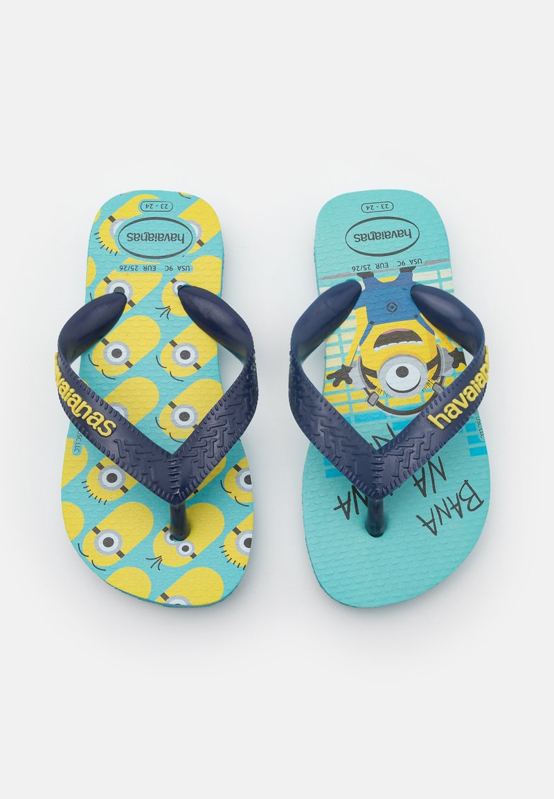 Havaianas - MINIONS UNISEX - T-bar sandals - blue/navy