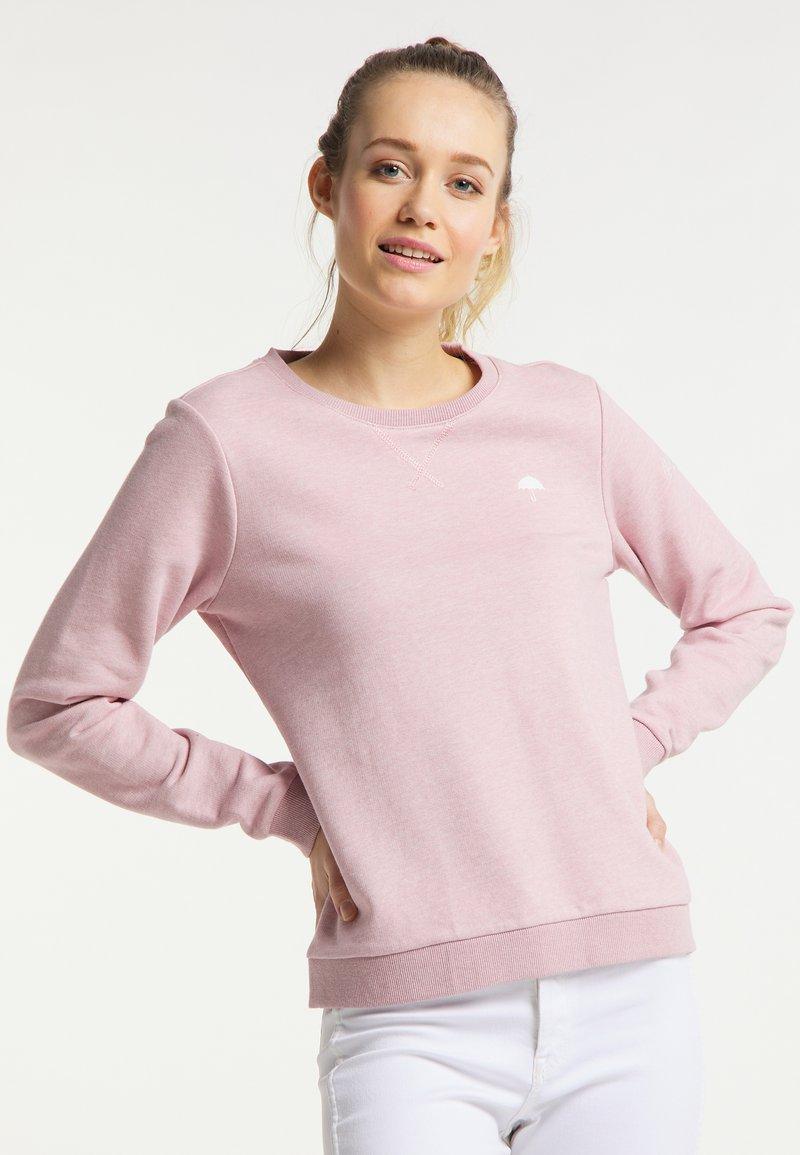 Schmuddelwedda - Sweatshirt - rosa melange