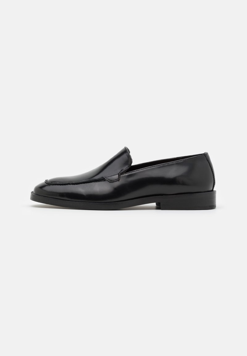 Walk London - ALEX APRON SLIP ON - Slip-ins - smooth black highshine